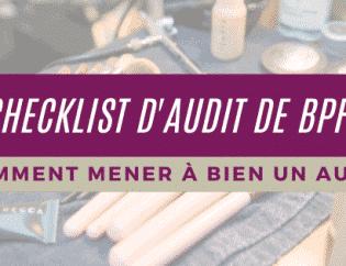 Liste de contrôle d'audit BPF: Comment mener à bien un audit