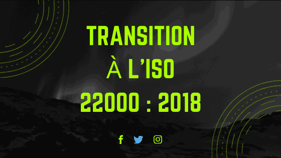 Transition à l'ISO 22000 2018