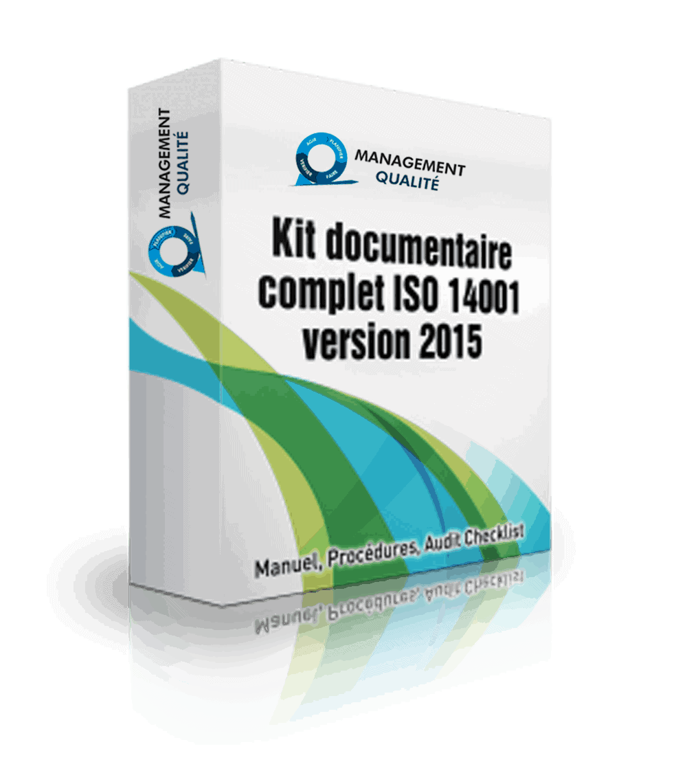 ISO 14001 2015 package documentaire