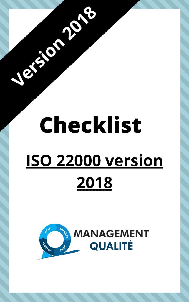 ISO 22000 Checklist