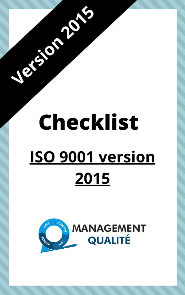 ISO 9001 checklist 2015 version